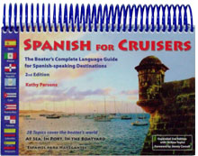 SPANISH FOR CRUISERS 2nd edition - Front Cover